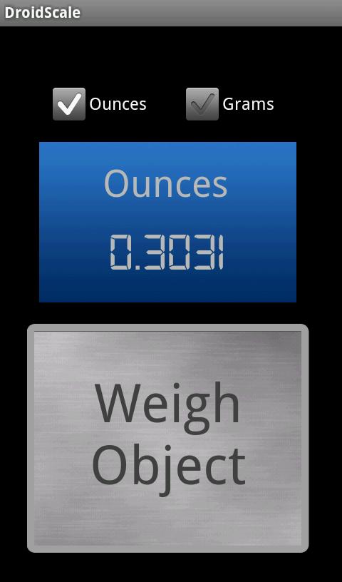 アプリ 重 さ 測り